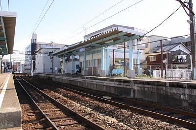 西別院駅ホーム2