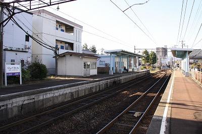 西別院駅ホーム3