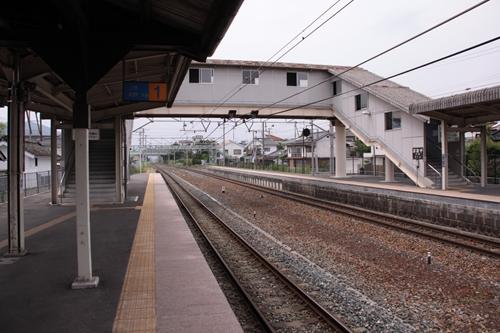 大屋駅跨線橋