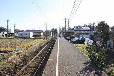 下兵庫駅ホーム福井方面