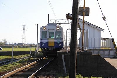 番田駅と電車