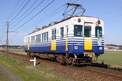 田圃と電車