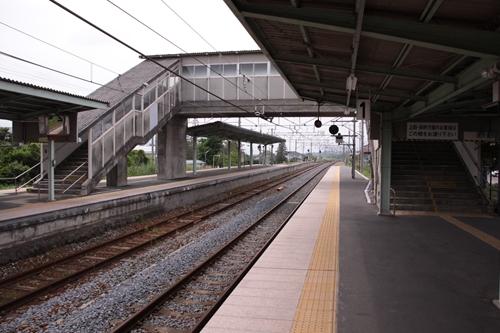 田中駅跨線橋