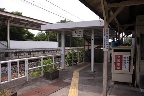 滋野駅地下通路入口