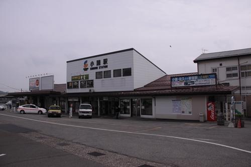 小諸駅全景
