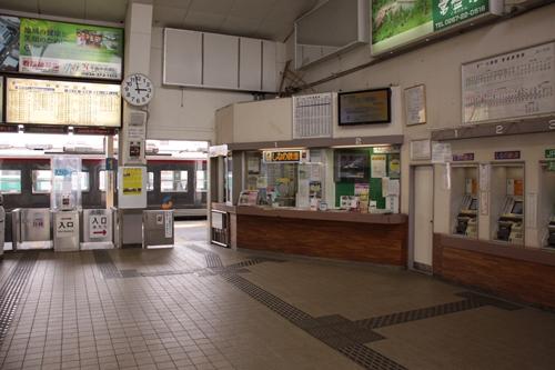 小諸駅駅舎内部