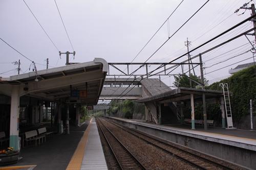 御代田駅跨線橋