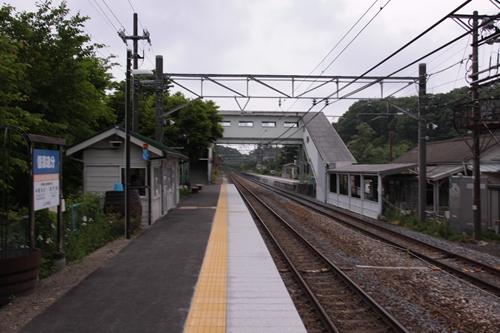 信濃追分駅跨線橋