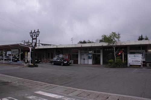 中軽井沢駅駅舎全景