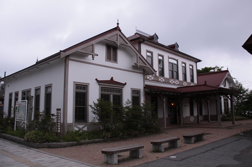 旧軽井沢駅舎記念館