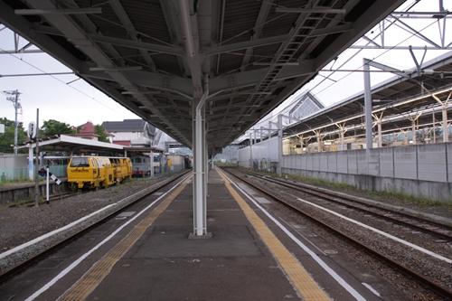 軽井沢駅ホーム軽井沢方面