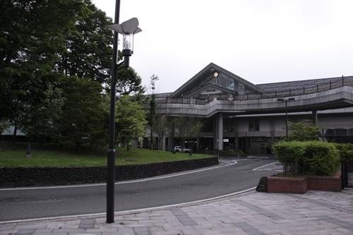 軽井沢駅駅舎全景