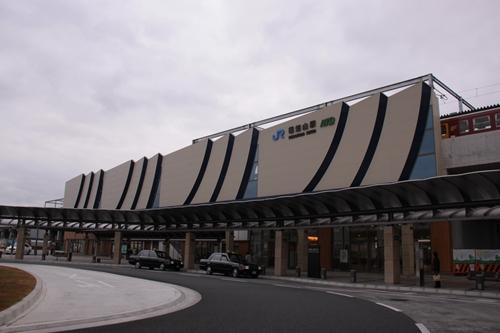 福知山駅全景