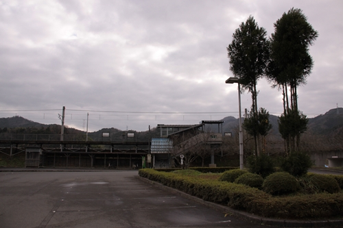 公庄駅全景