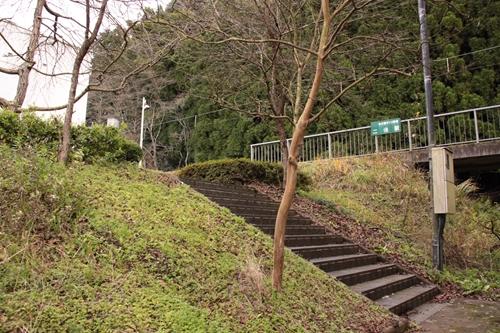 二俣駅入口