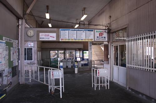 吉原駅改札口裏手
