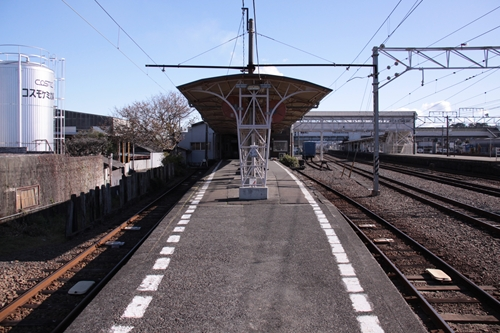 吉原駅ホーム終点側