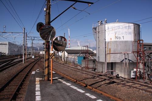 岳南鉄道合流点
