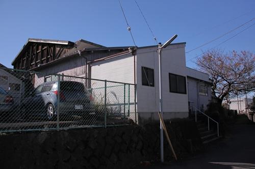 岳南鉄道駅舎全景