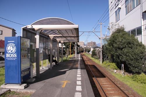 ジヤトコ前駅ホーム岳南江尾方面