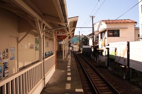 吉原元町駅ホーム吉原方面