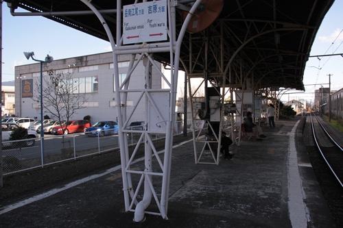 本吉原駅ホーム岳南江尾方面