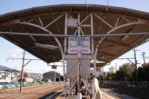 岳南原田駅ホーム岳南江尾方面