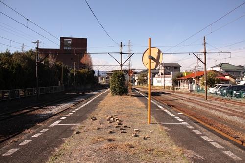 岳南原田駅ホーム吉原方面