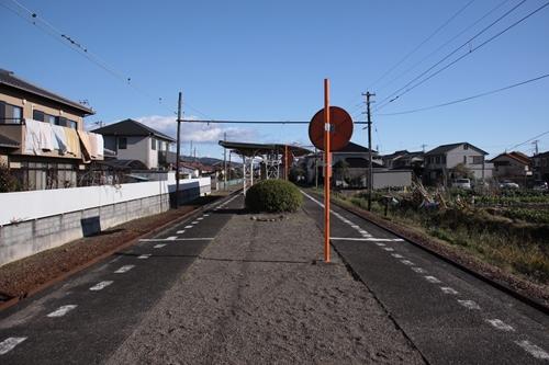 須津駅ホーム岳南江尾方面
