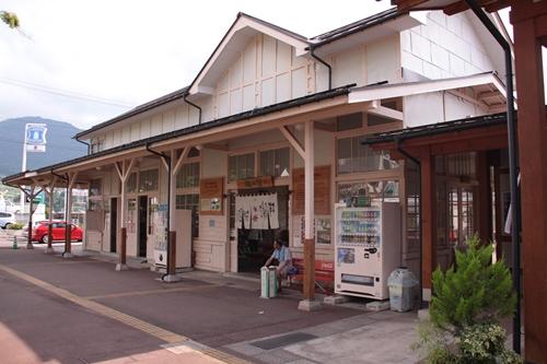 湯田中駅旧駅舎