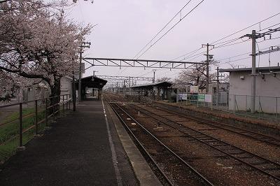 高宮駅ホーム1米原方面