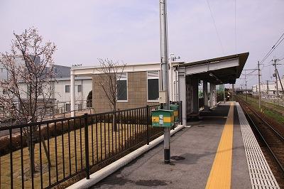 スクリーン駅ホーム高宮方面