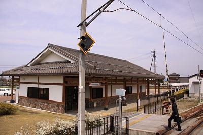 尼子駅背面