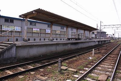 新八日市駅ホーム2近江八幡方面