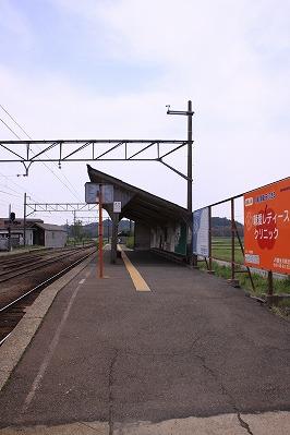 日野駅反対側ホーム八日市方面