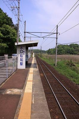 水口松尾駅ホーム八日市方面