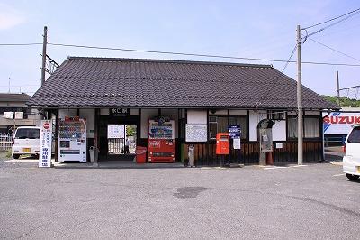 水口駅駅舎