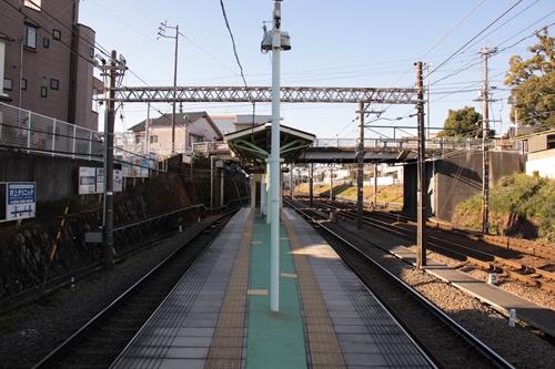 入江岡駅ホーム新静岡方面