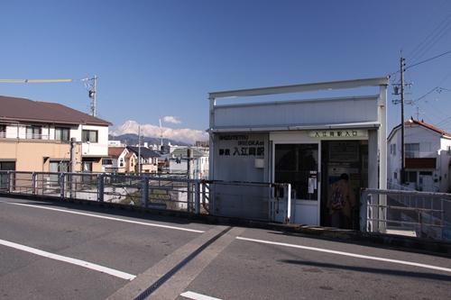 入江岡駅駅舎全景