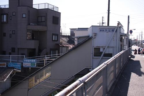 入江岡駅駅舎横