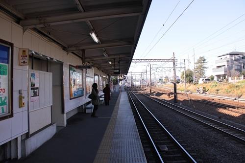 桜橋駅2番線ホーム新静岡方面