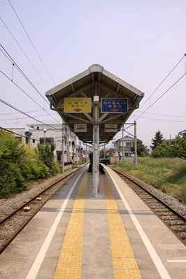 上田原駅ホーム2