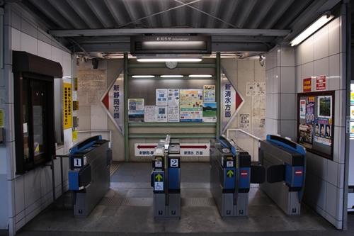 桜橋駅改札口その2