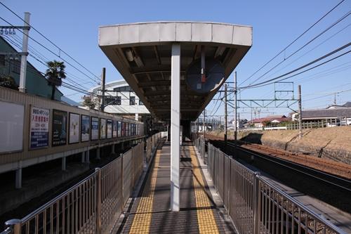 狐ヶ崎駅ホーム新静岡方面