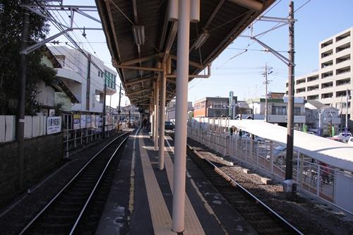 御門台駅ホーム新静岡方面