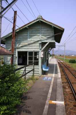 八木沢駅ホーム