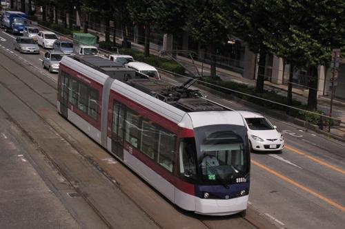 熊本市電トラム