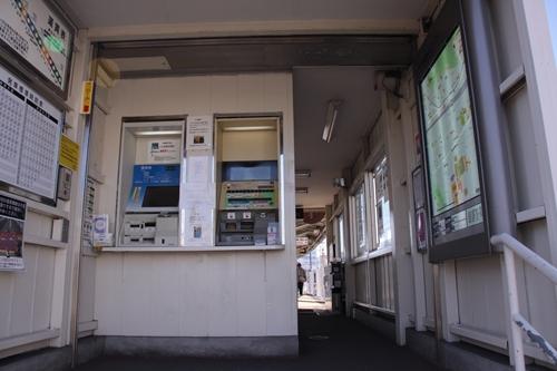 静岡鉄道静岡清水線春日町駅駅舎内