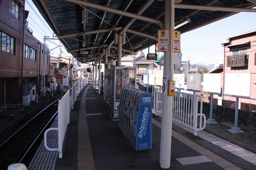 音羽町駅ホーム新静岡方面