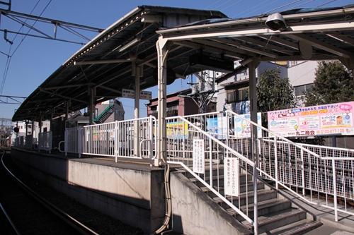 音羽町駅ホーム全景